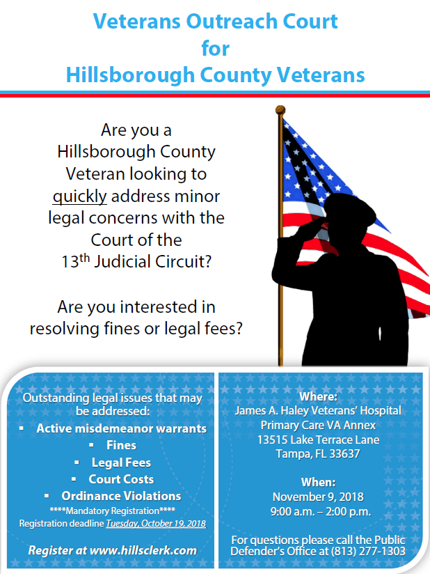 Veterans Outreach Court - Office Of The State Attorney 13th